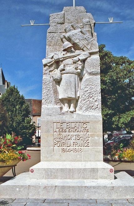 Monument aux morts du blanc indre - Histoire de la sculpture ...